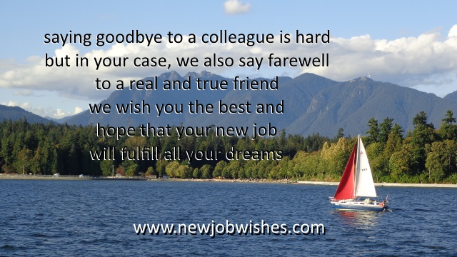 job farewell speech